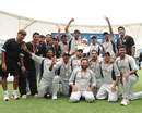 United Arab Emirates won the World Cricket League Division Two tournament, United Arab Emirates v Namibia, WCL Division 2, Dubai. April 15, 2011