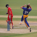 Louis Klazinga claimed 5-50 against Hong Kong at the ICC WCL2 in Dubai on 14th April 2011