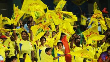There were plenty of Chennai fans at the Nehru Stadium in Kochi