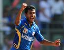 Abu Nechim dismissed Jesse Ryder and Mithun Manhas in quick succession, Mumbai Indians v Pune Warriors, IPL 2011, Mumbai, April 20, 2011