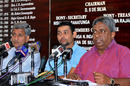 Tillakaratne Dilshan, Sri Lanka's new captain, and Duleep Mendis, new chief selector, Colombo, April 20, 2011