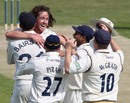 Ryan Sidebottom ripped through Nottinghamshire's middle order on the first day at Headingley, Yorkshire v Nottinghamshire, County Championship Division One, Headingley, April 20 2011