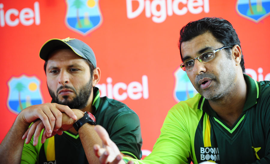 Image result for Shahid Afridi Waqar Younis