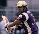 Gautam Gambhir steers through the off side