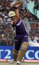 Jacques Kallis punches fluently down the ground