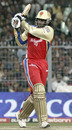 Chris Gayle pulls on his way to a 55-ball ton