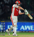 Shaun Marsh scores through the off side, Delhi Daredevils v Kings XI Punjab, IPL 2011, Delhi, April 23, 2011