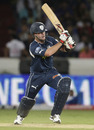 Daniel Christian plays one to the leg side, Deccan Chargers v Mumbai Indians, IPL 2011, Hyderabad, April 24, 2011