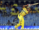 Suresh Raina is cleaned up by Alfonso Thomas