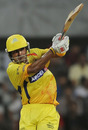 S Badrinath pulls during his half-century, Pune Warriors v Chennai Super Kings, IPL 2011, DY Patil Stadium, Navi Mumbai, April 27, 2011