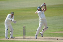 Damien Wright boosted Worcestershire with a brisk 65, Nottinghamshire v Worcestershire, County Championship, Division One, Trent Bridge, April 27, 2011