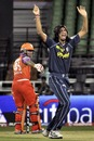 Ishant Sharma cut through Kochi's top order, Kochi Tuskers Kerala v Deccan Chargers, IPL 2011, Kochi, April 27, 2011