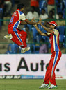 J Syed Mohammad and Mohammad Kaif combined to remove Jesse Ryder, Royal Challengers Bangalore v Pune Warriors, IPL 2011, Bangalore, April 29, 2011