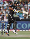 Harpreet Singh hops to play a short delivery, Rajasthan Royals v Pune Warriors, IPL 2011, Jaipur, May 1, 2010