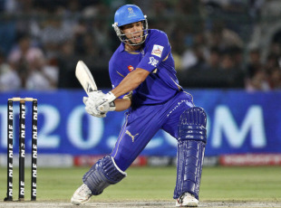 Ross Taylor lines up a big shot, Rajasthan Royals v Pune Warriors, IPL 2011, Jaipur, May 1, 2010