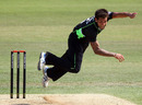 Jade Dernbach took 2 for 13 off his eight overs against Scotland, Surrey v Scotland, CB40, The Oval, May 1, 2011