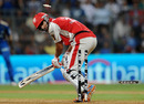 Bipul Sharma gets the Lasith Malinga treatment, Mumbai Indians v Kings XI Punjab, IPL 2011, Mumbai, May 2, 2011