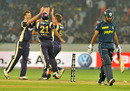 Jacques Kallis sent Shikhar Dhawan back for 54, Deccan Chargers v Kolkata Knight Riders, IPL 2011, Hyderabad, May 3, 2011