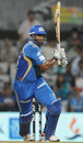 Kieron Pollard launches the late assault, Pune Warriors v Mumbai Indians, IPL 2011, Navi Mumbai, May 4, 2011