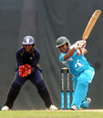 BCB NCA captain Mohammad Mithun hits through the covers, Academy Cup, Bangladesh Cricket Board National Cricket Academy v South African National Cricket Academy, 1st Twenty20, Mirpur, May 5, 2011
