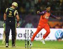 Raiphi Gomez exults after dismissing Jacques Kallis, Kochi Tuskers Kerala v Kolkata Knight Riders, IPL 2011, Kochi, May 5, 2011