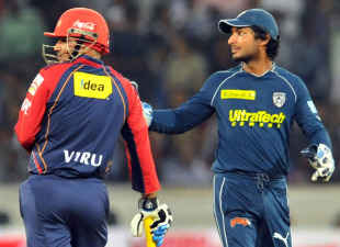 IPL 4 - Deccan Chargers v Delhi Daredevils 46th Match Highlights at Hyderabad, May 05, 2011