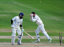 Mohammad Yousuf was stumped as Warwickshire collapsed