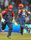 James Hopes and Venugopal Rao added 87 for the fifth wicket, Mumbai Indians v Delhi Daredevils, IPL 2011, Mumbai, May 7, 2011