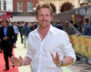 Paul Collingwood at the premiere of 'Fire in Babylon' at Leicester Square, London, May 9, 2011