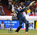 Dwaraka Ravi Teja is bowled by Mitchell Marsh, Deccan Chargers v Pune Warriors, IPL 2011, Hyderabad, April 10, 2011