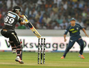 Manish Pandey steers through the off side