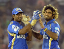 Lasith Malinga was among the wickets again