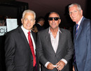 David Gower, Ian Botham and Bob Willis arrive for the world premiere of <i>From the Ashes</i>, London, May 10, 2011