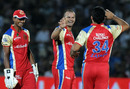 Charl Langeveldt is pleased after removing Ross Taylor, Rajasthan Royals v Royal Challengers Bangalore, IPL 2011, Jaipur, May 11, 2011