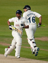 Tim Bresnan and Ajmal Shahzad put on an unbeaten 99 for the eighth wicket on the first day