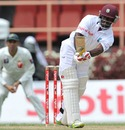 Devon Smith works one away , West Indies v Pakistan, 1st Test, Providence, 1st day, May 12, 2011