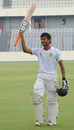 Anamul Haque celebrates getting to his century