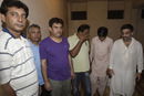 Akram Raza and six other men are arrested for illegal betting, Lahore, May 15, 2011