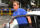 Shane Warne arrives for his BCCI hearing