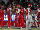 Charl Langeveldt got Paul Valthaty for 20, Kings XI Punjab v Royal Challengers Bangalore, IPL 2011, Dharamsala, May 17, 2011