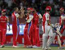 Charl Langeveldt got Paul Valthaty for 20, Kings XI Punjab v Royal Challengers Bangalore, IPL 2011, Dharamsala, May 17, 2011