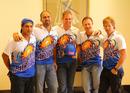 The Mumbai Indians coaches at a promotional event, Mumbai, May 18, 2011