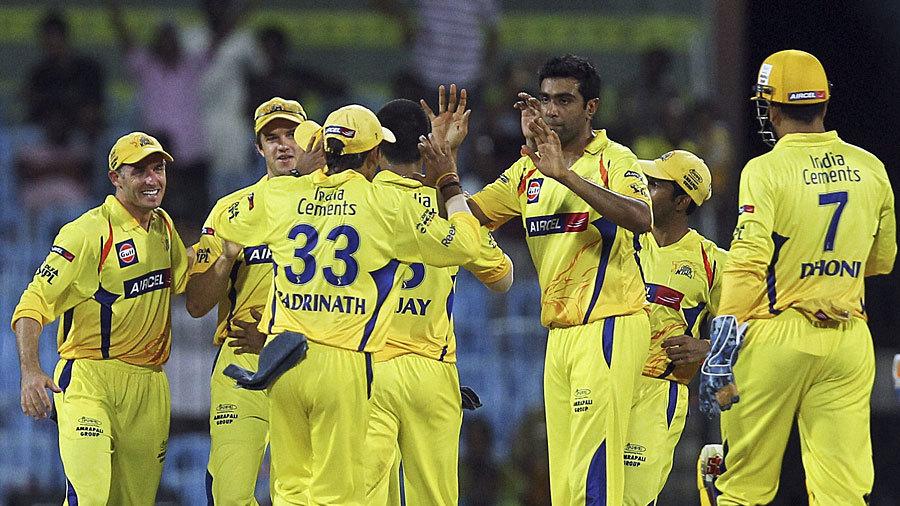 Chennai's bowlers kept picking up wickets at regular intervals