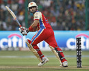Virat Kohli plays a leg glance, Royal Challengers Bangalore v Chennai Super Kings, IPL 2011, Bangalore, May 22, 2011
