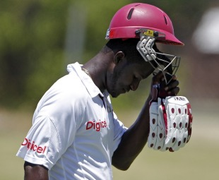 Darren Sammy was dismissed for 41, West Indies v Pakistan, 2nd Test, St Kitts, 5th day, May 24, 2011