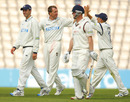 Dominic Cork's four wickets chipped away at his old county, Hampshire v Lancashire, County Championship, Division One, Rose Bowl, May 24, 2011