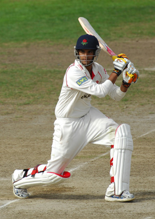 Adrian Shankar in action for Lancashire, lancashire 2nd XI v Surrey 2nd Xi, Old Trafford, September 18, 2009