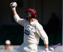 Marcus Trescothick celebrates Somerset's successful chase, Somerset v Yorkshire, County Championship, Division One, Taunton, May 27, 2011
