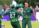 Tanvir Ahmed got rid of Ed Joyce early, Ireland v Pakistan, 1st ODI, Belfast, May 28, 2011