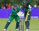 Mohammad Hafeez turns one away, Ireland v Pakistan, 1st ODI, Belfast, May 28, 2011